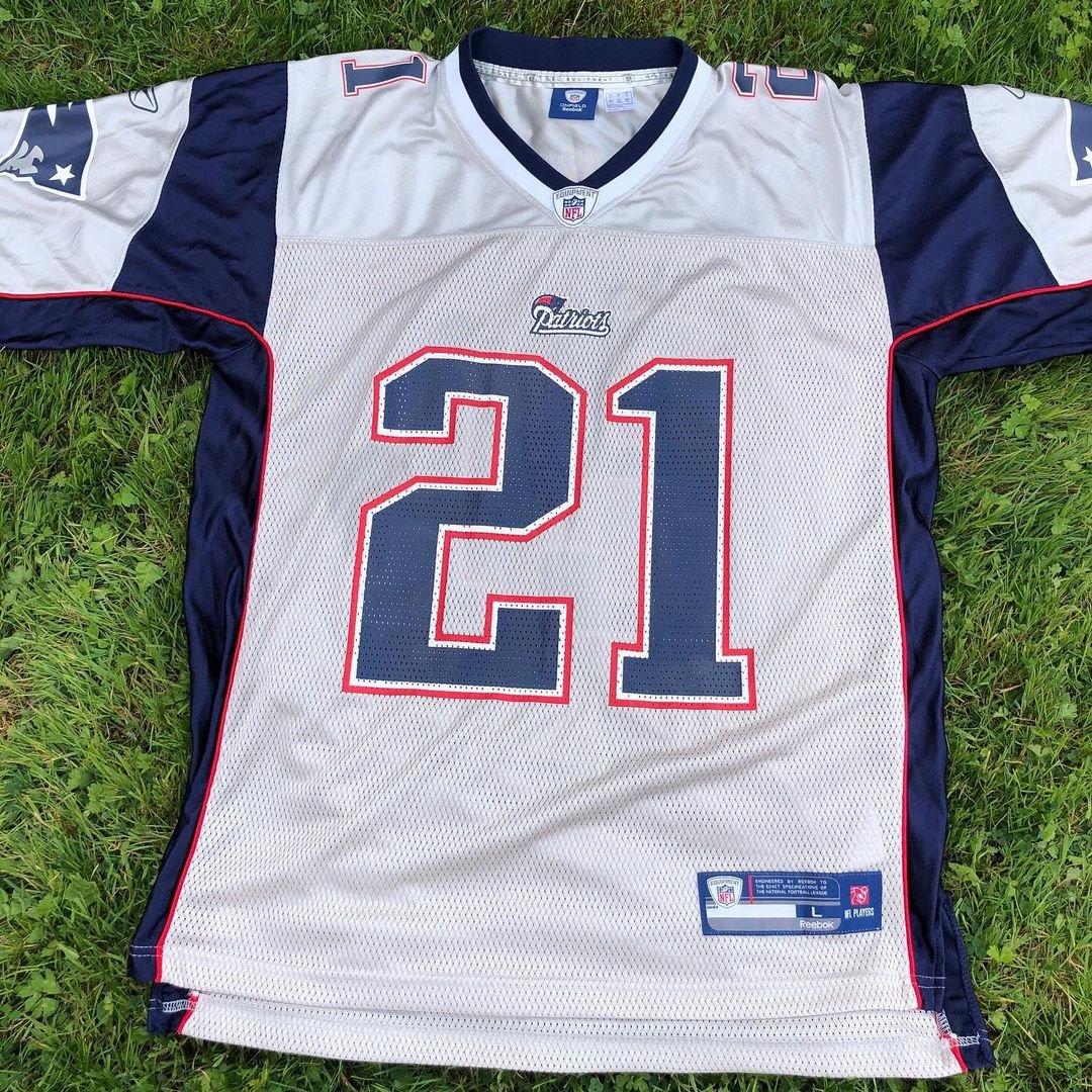 New England Patriots Fred Taylor #21 - JerseyAve - Marketplace