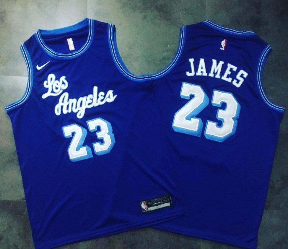 Lebron James - Los Angeles Lakers blue #23 - JerseyAve - Marketplace