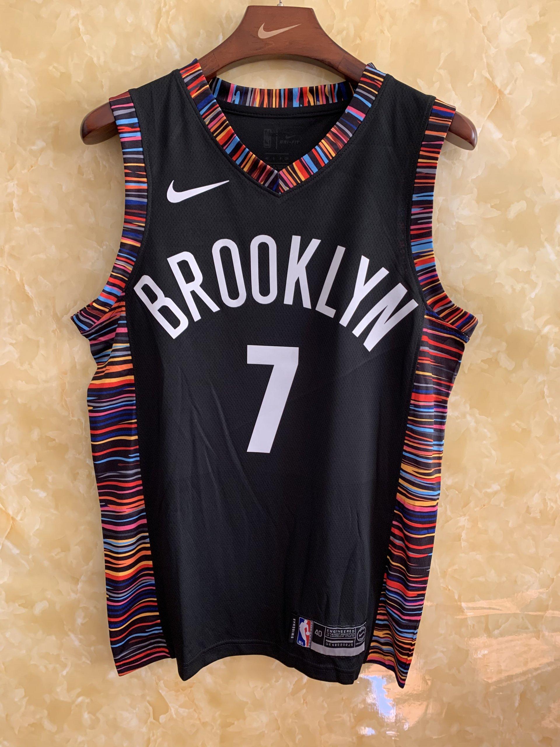 Brooklyn Nets Jahlil Okafor City Edition Black Swingman Jersey