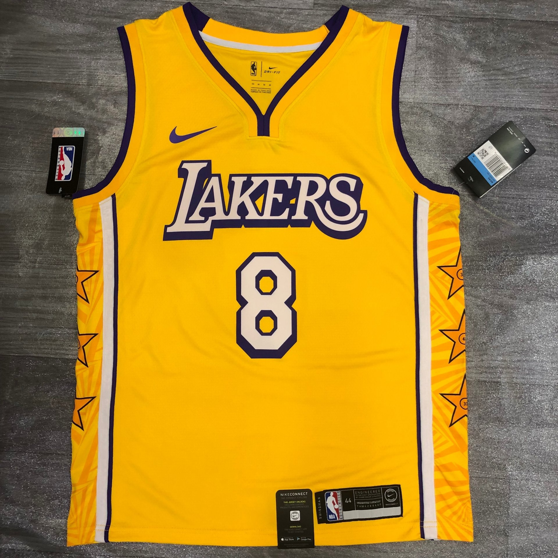 Kobe Bryant - Los Angeles Lakers #8 City Edition 2019 - JerseyAve ...