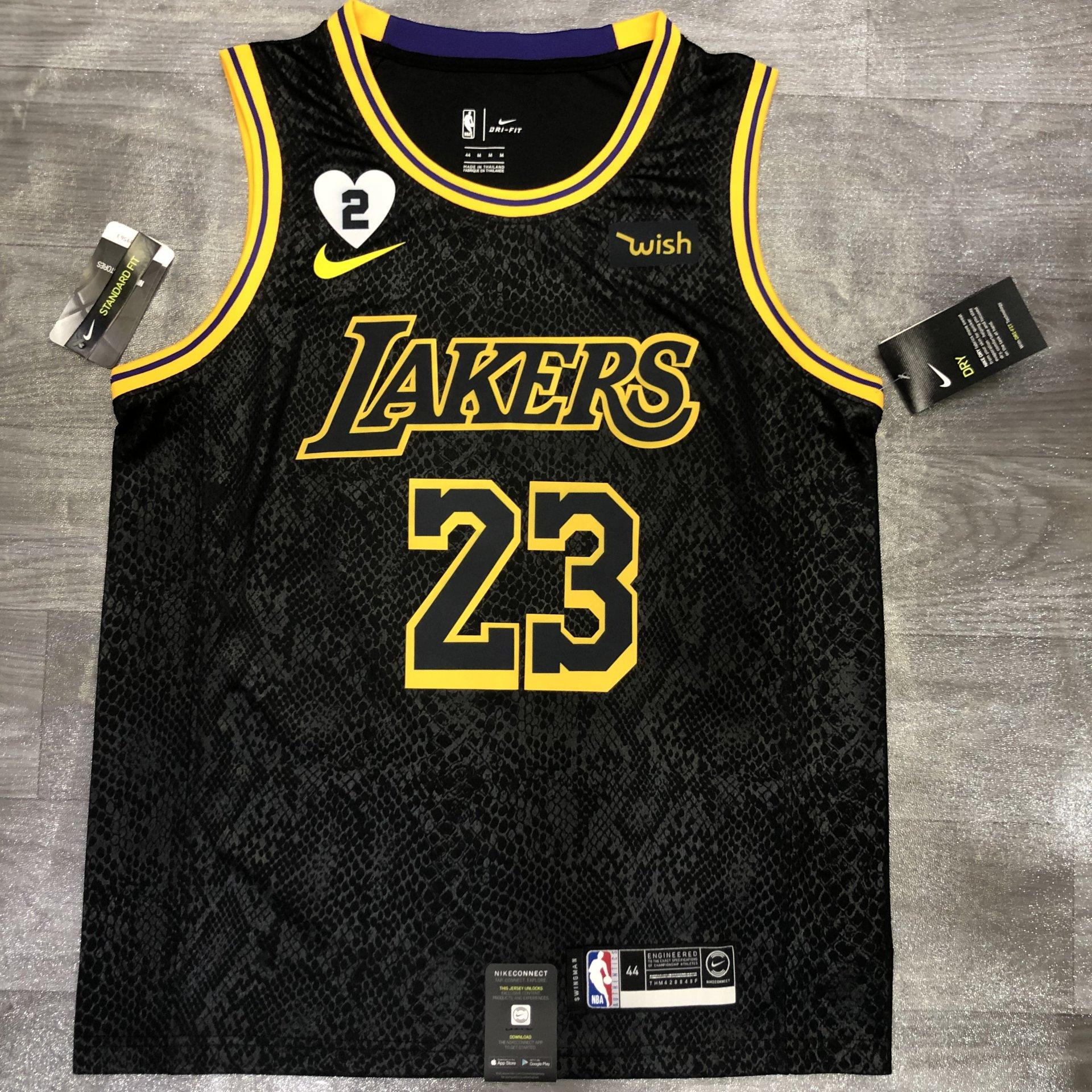 Lebron James - Los Angeles Lakers #23 *Black Mamba* WISH ...