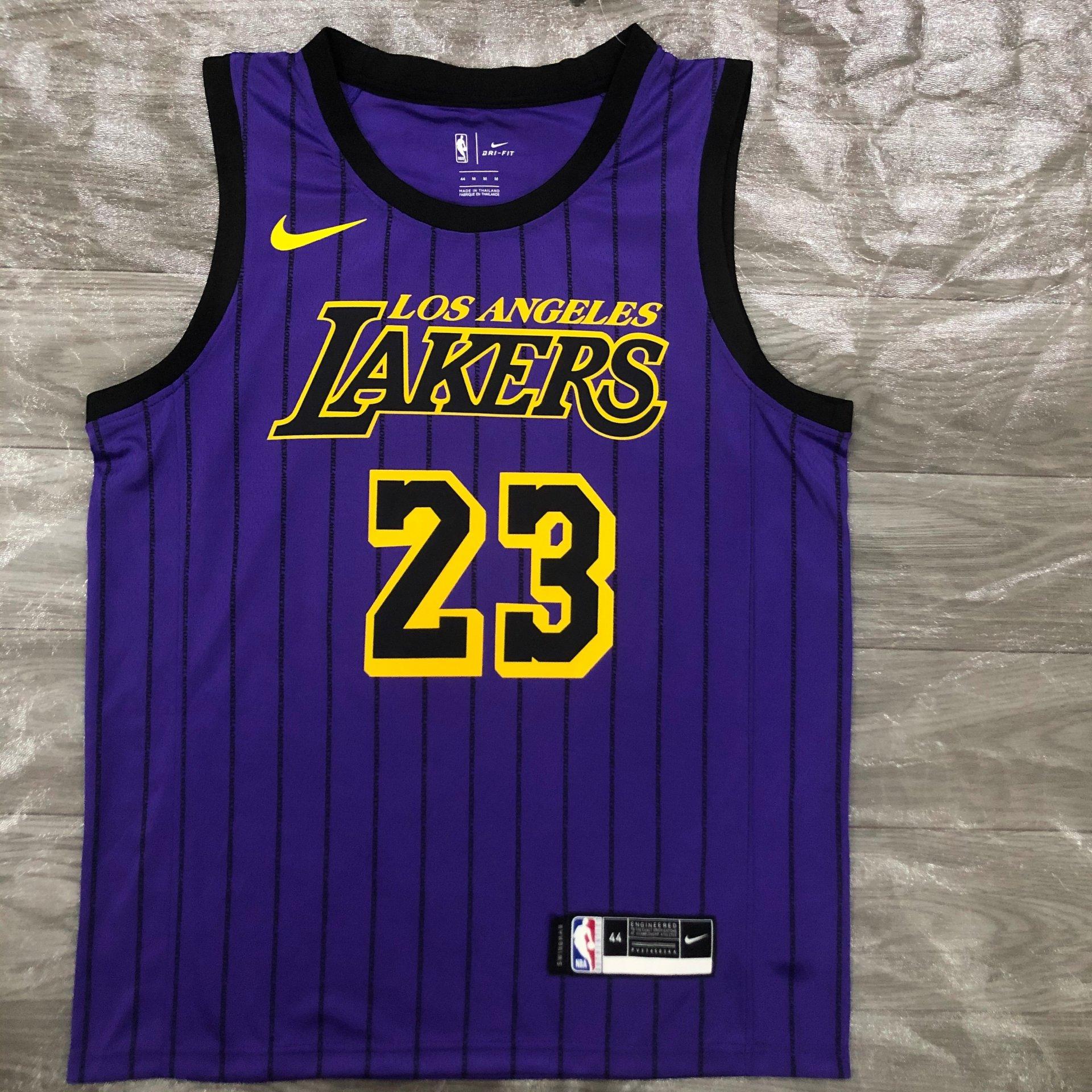 Lebron James Los Angeles Lakers - Purple City Edition #23 ...