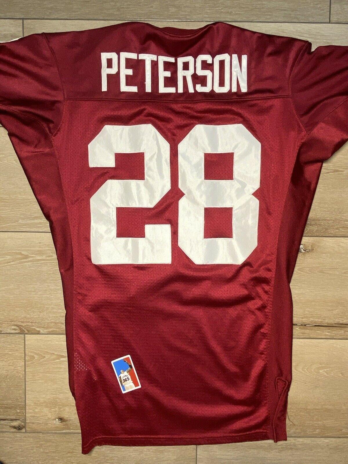 Adrian Peterson Oklahoma Sooners Procut Custom Nike Jersey Size L ...