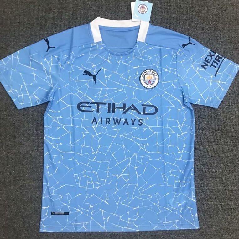 Manchester City - Home 2020-21 - JerseyAve - Marketplace