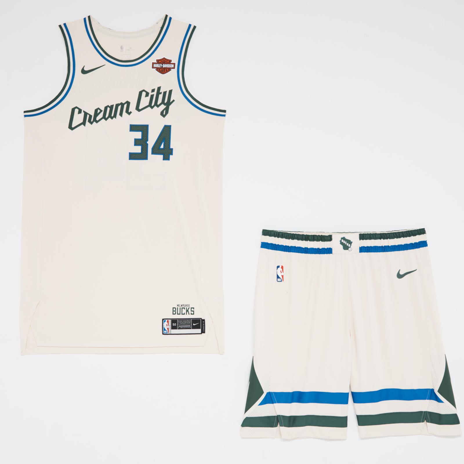 Milwaukee Bucks Cream City Edition