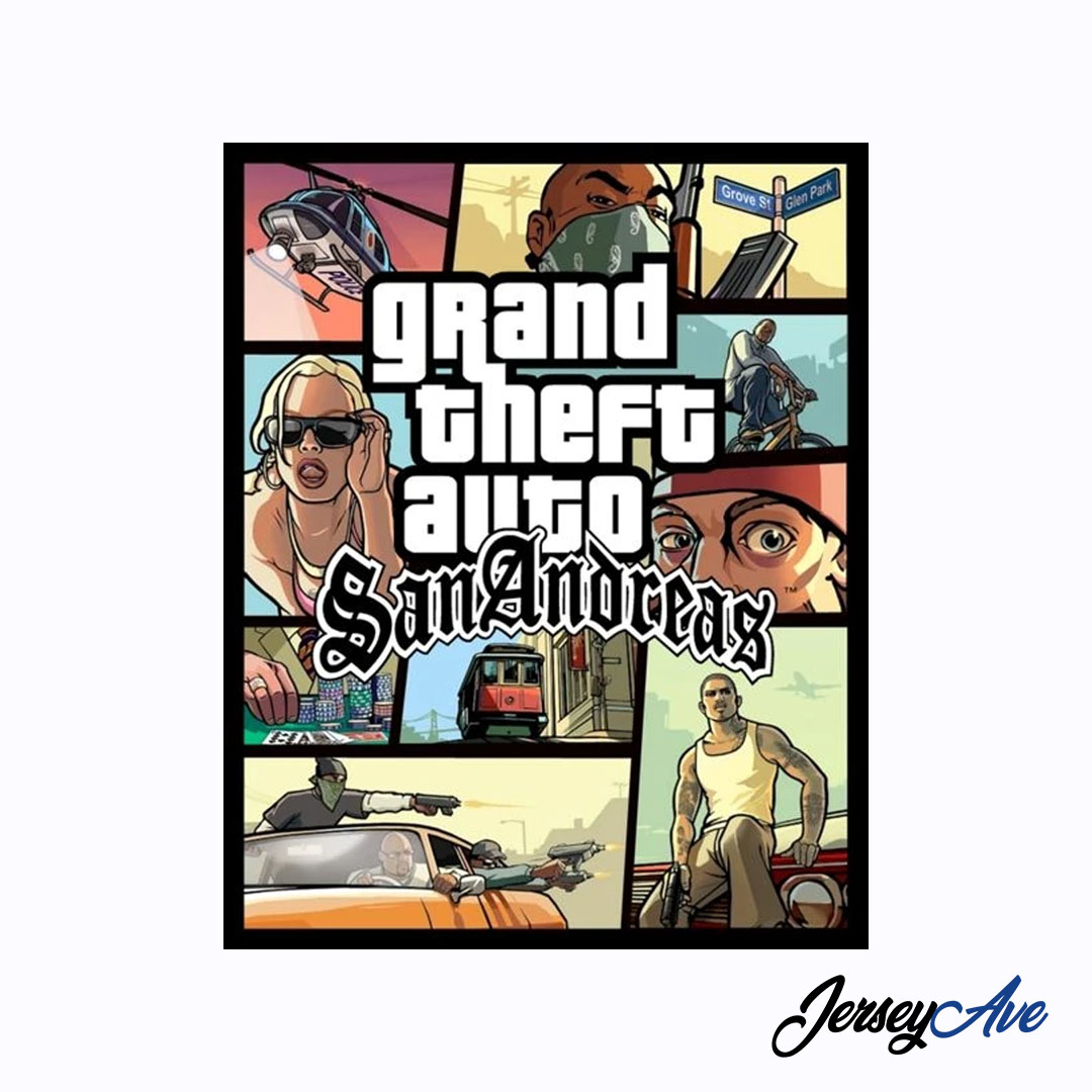 Los Angeles Clippers City Edition Grand Thheft Auto San Andreas